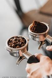 Kaffeebohnen-Siebtrager
