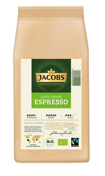 Jacobs Good Origin 1000 g Espressobohnen