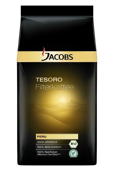 Jacobs Filterkaffee - Tesoro 1000g gemahlen