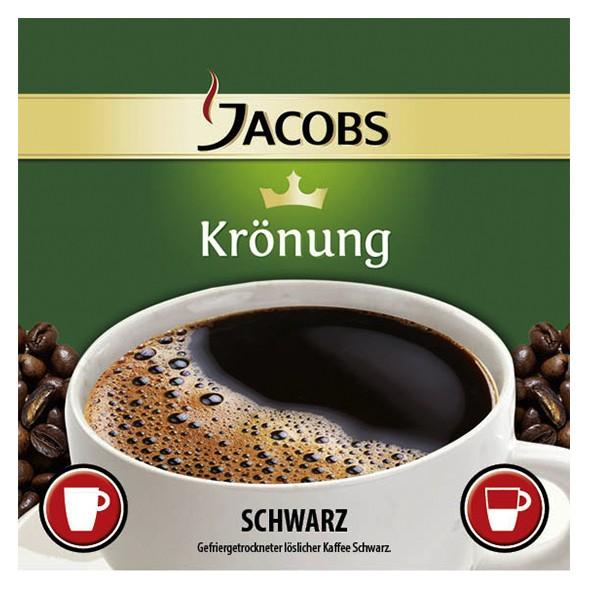 Incup - Jacobs Krönung Kaffee Schwarz