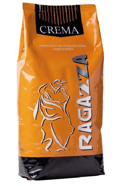 Kaffee Creme - Hämmerle Ragazza Crema 1000g Bohne