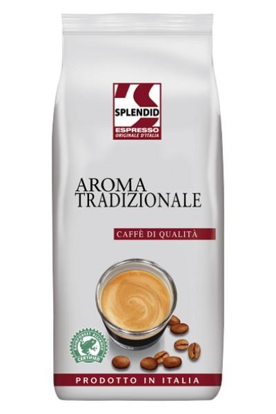 Kaffee Espresso - Splendid Espresso Aroma Tradizionale 1000g Bohne
