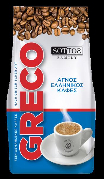 Greco Mokka fein gemahlener Kaffee 96 g