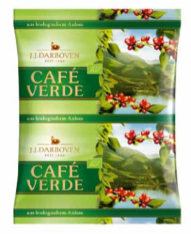 Cafe Verde 500 g Filterkaffee gemahlen
