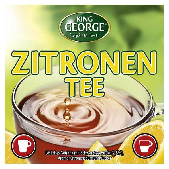 Incup - King George Zitronentee