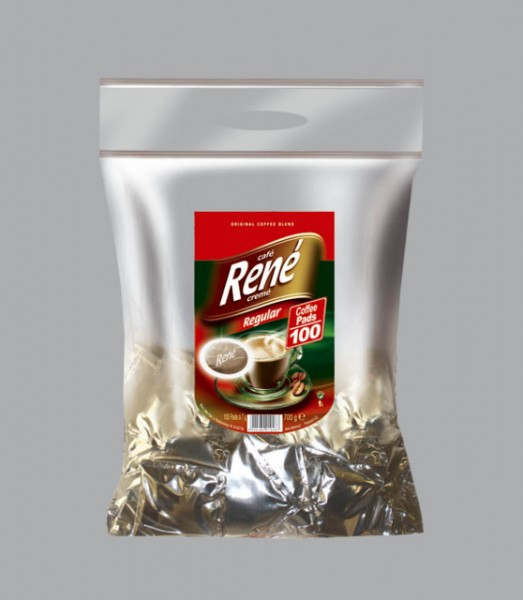 Rene Cafe Creme Regular Pads