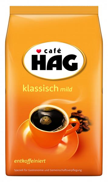 Cafe HAG Klassisch Mild Ganze Bohne 500g