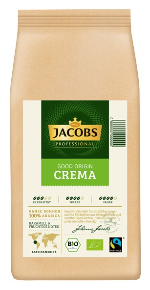 Jacobs Good Origin 1000 g Cafe Crema Bohnen