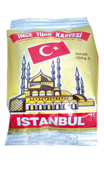 Filterkaffee - Istanbul türkischer Mokka 100 g gemahlen