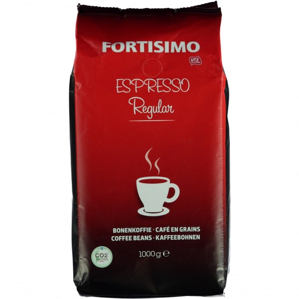Fortisimo Espresso Regular Ganze Bohne