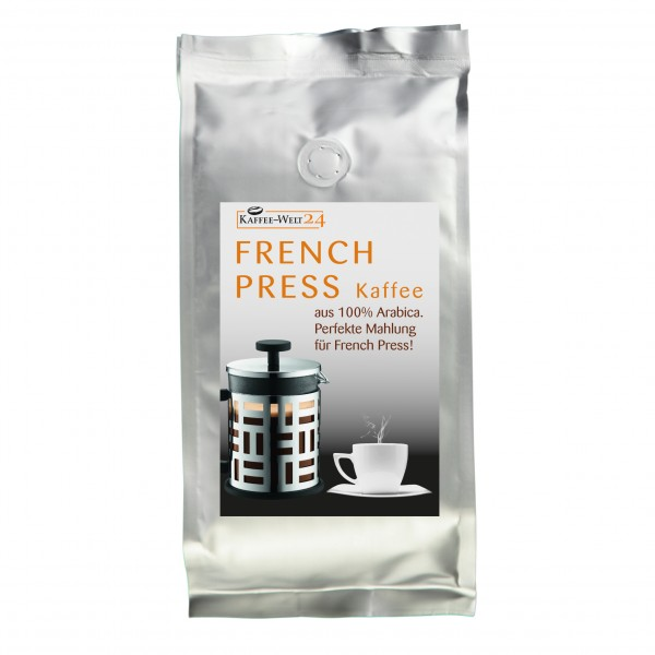 French Press Kaffee grober gemahlen 500 g
