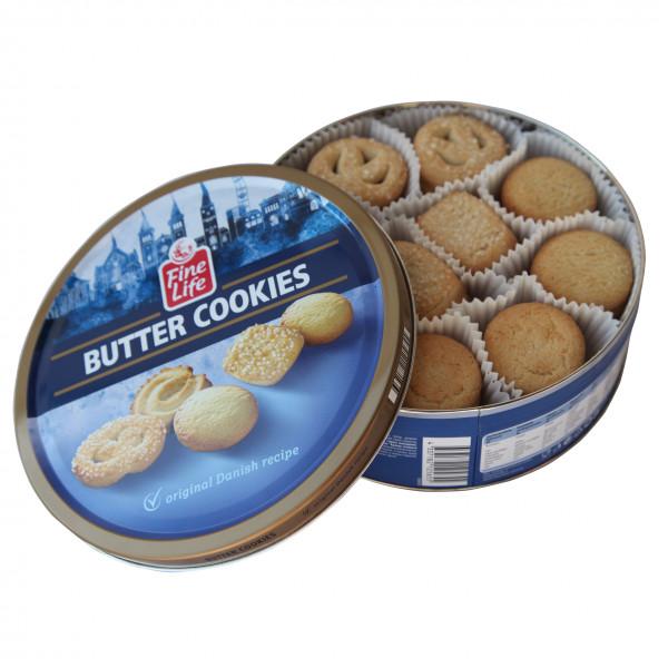 Kaffeegebäck - Danish Butter Cookies 500g offen