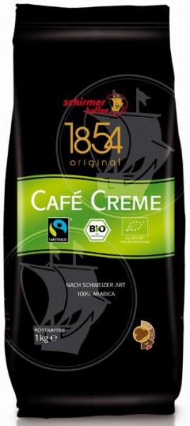 Schirmer 1854 Transfair Bio Cafe Creme Bohne 1000 g