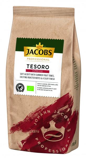 Jacobs Kaffee Espresso - Tesoro Espresso 1000g Bohne