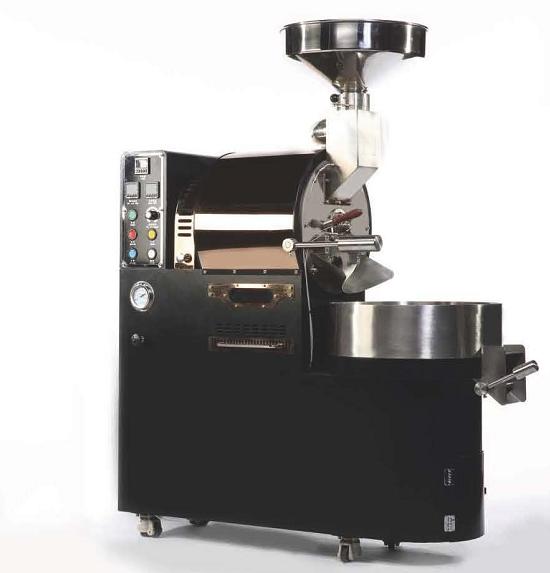 Kaffeeröster LM No10 von LaMacatec Seitenansicht