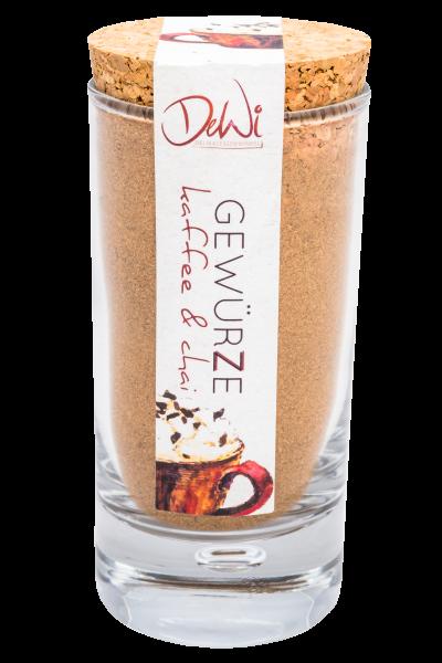 Kaffee & Chai Gewürz Kleines Korkenglas 30g