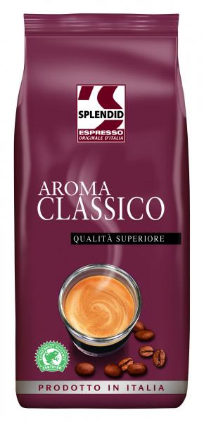 Splendid Aroma Classico Espresso 1000g Ganze Bohne