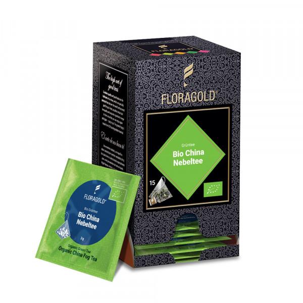 Grüner Tee Bio China Nebeltee Floragold® von FLORAPHARM®