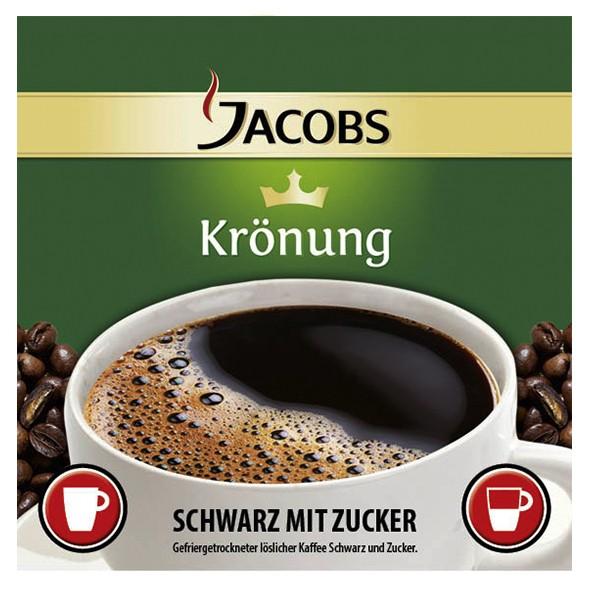 Incup - Jacobs Krönung Kaffee Schwarz + Zucker