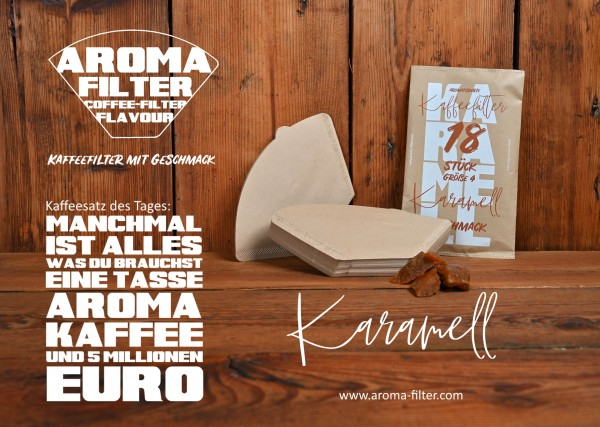 Aroma Filter Karamell