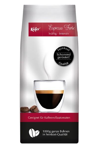 Kaffee Espresso - Käfer Espresso Forte 1000 g Bohne