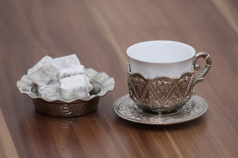 Türkischer Mokka in einer Tasse