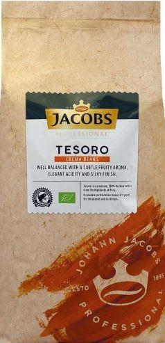 Jacobs Kaffee Creme - Tesoro Caffe Crema 1000g Bohne
