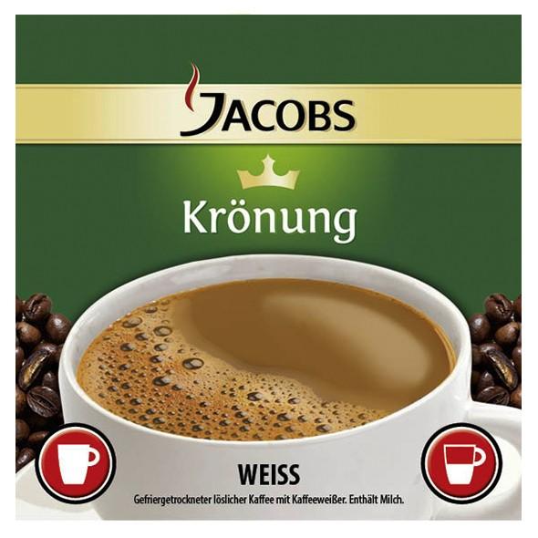 Incup - Jacobs Krönung Kaffee Weiß
