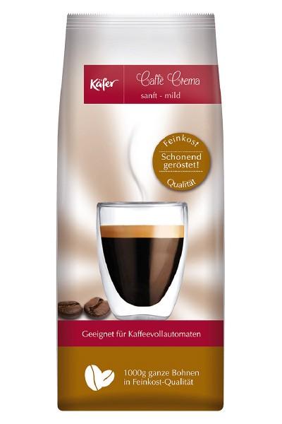 Kaffee Creme - Käfer Caffe Crema sanft - mild 1000 g Bohne