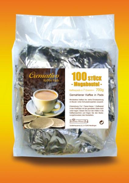 Cremativo Kaffeepads - Megabeutel -