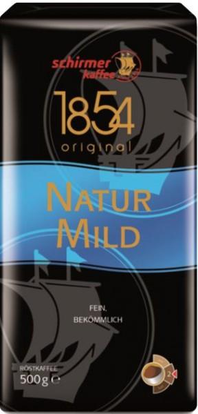 Schirmer 1854 Naturmild gemahlen 500 g