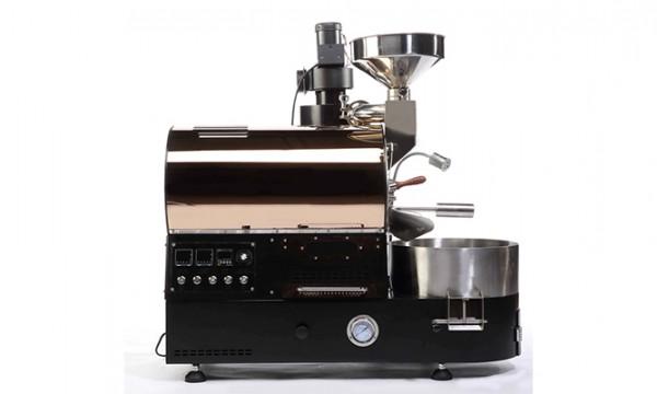 Kaffeeröster LM No2 von LaMacatec Seitenansicht