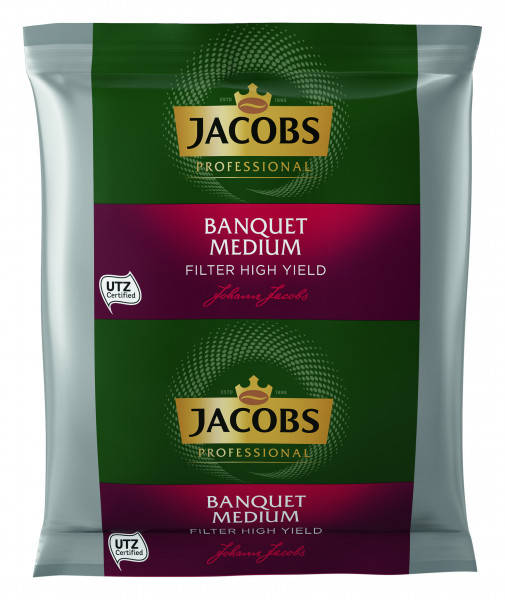 Jacobs Banquet Medium UTZ SG Filterkaffee