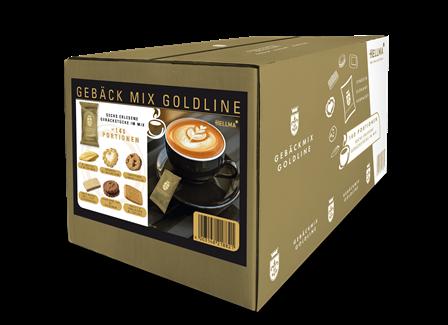 HELLMA Keksmischung 6 knusprig-leckere Sorten Kaffee Gebäck